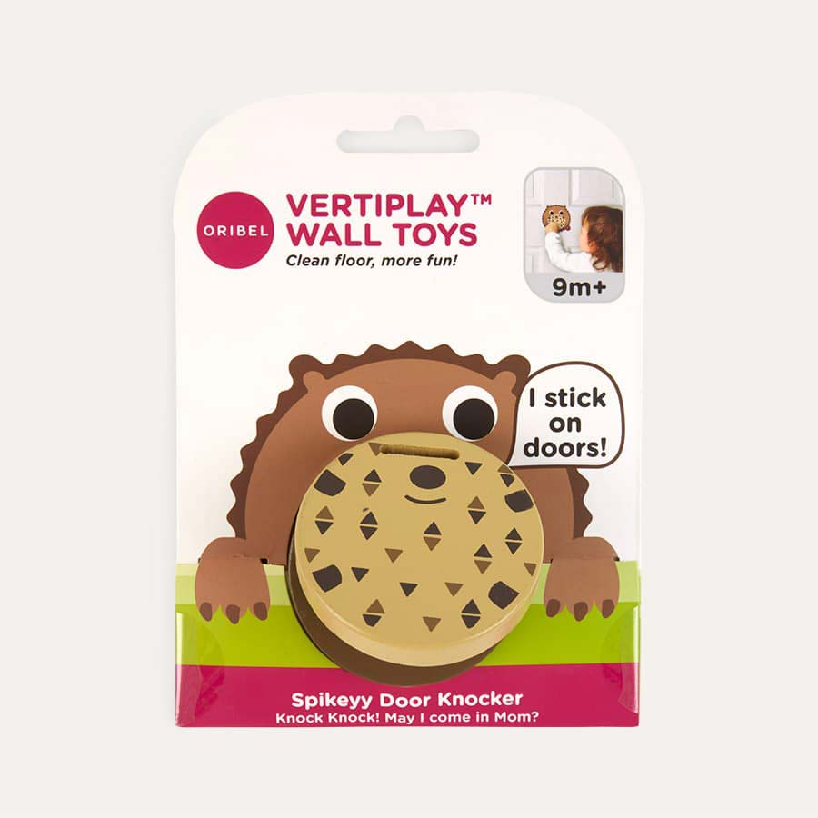 Hedgehog Oribel Vertiplay Doorknocker