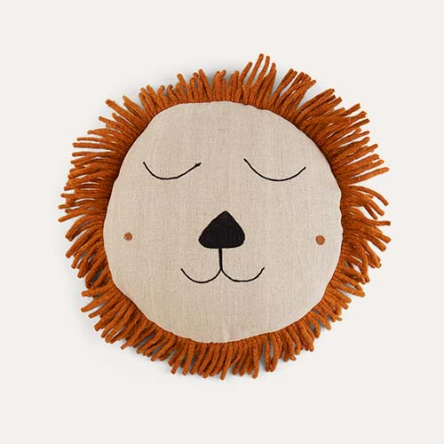 Grey Ferm Living Lion Safari Cushion