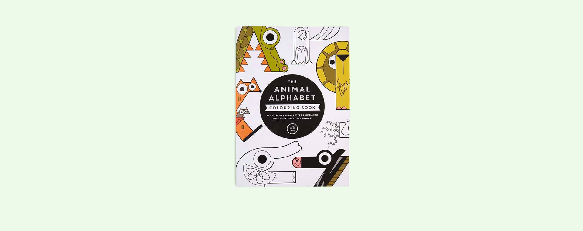 Multi The Jam Tart The Animal Alphabet Colouring Book