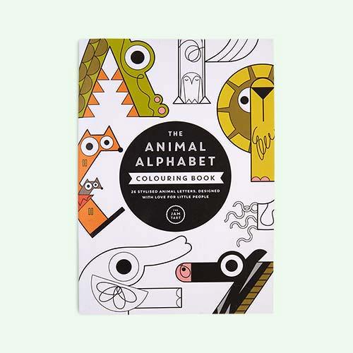 Multi The Jam Tart The Animal Alphabet Colouring Book