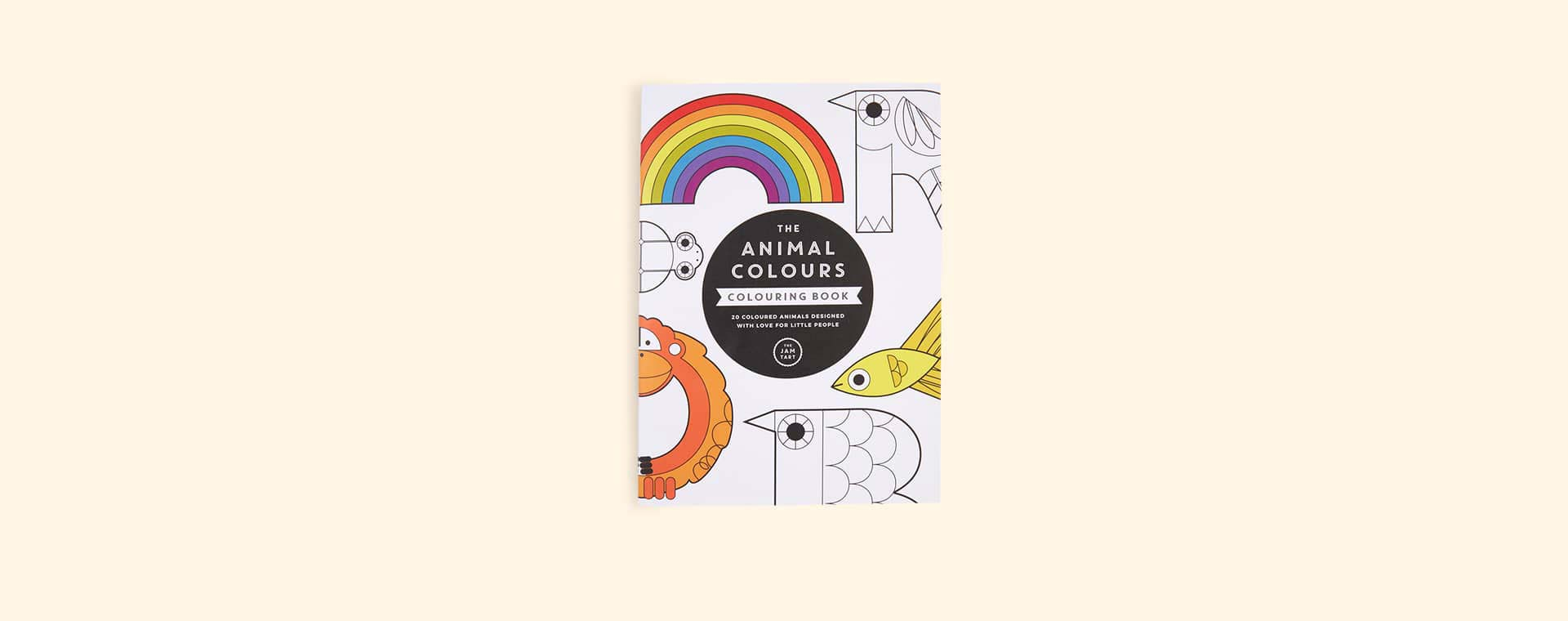 Buy The The Jam Tart The Animal Colours Colouring Book At Kidly Uk