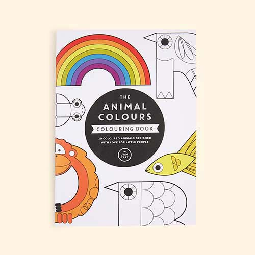Multi The Jam Tart The Animal Colours Colouring Book