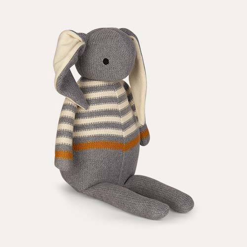 Grey Liewood Dextor Knit Teddy Rabbit