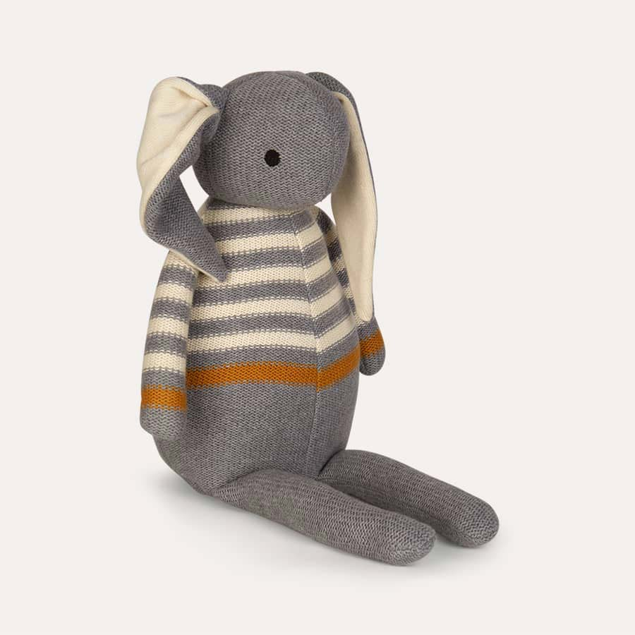Grey Liewood Dextor Knit Teddy Rabbit