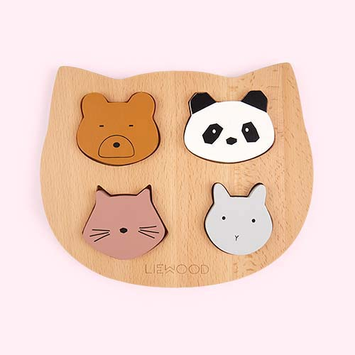 Multi Liewood Lulu Wooden Puzzle