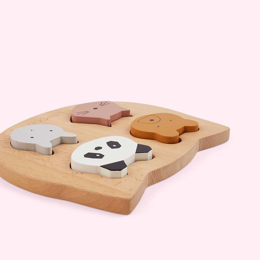 Multi Liewood Lulu Wooden Puzzle