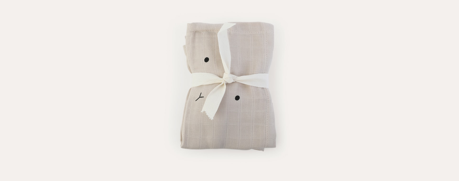 Rabbit Sandy Liewood Hannah Muslin Cloth Rabbit 2 Pack