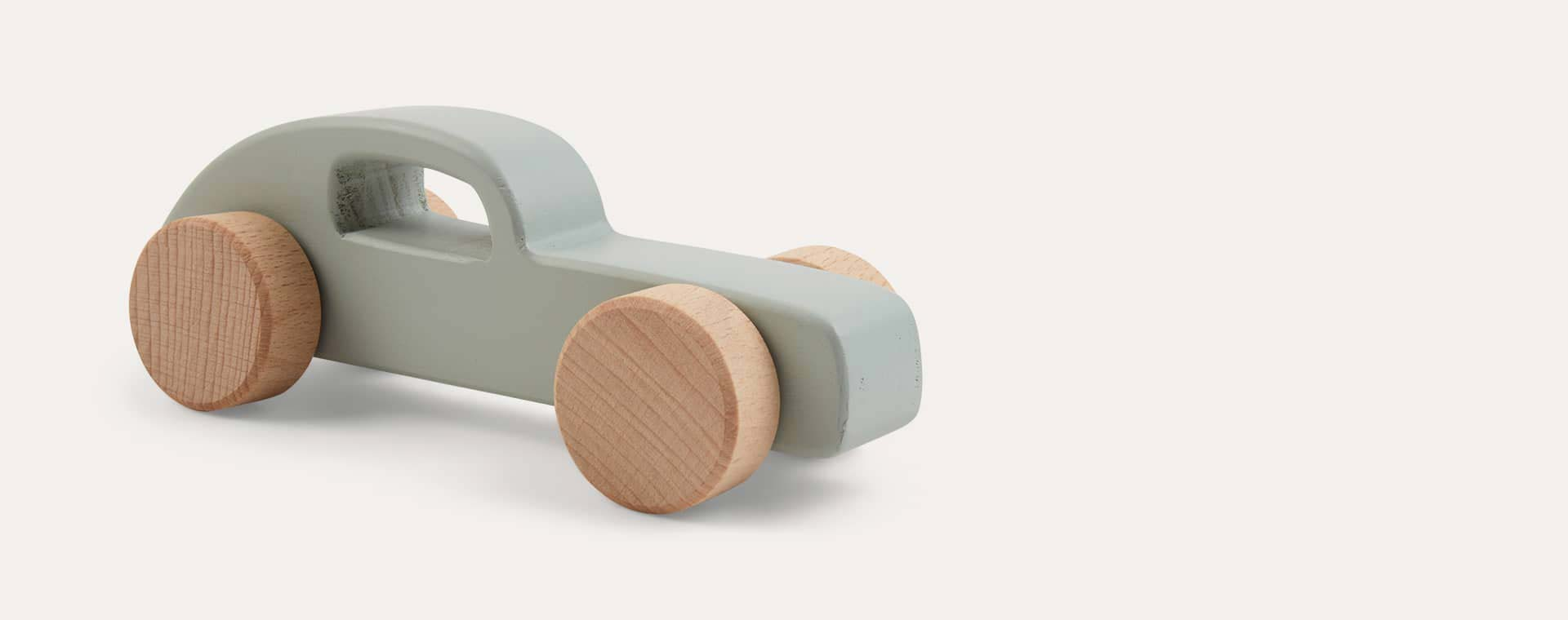 Dusty Mint Liewood Elena Wood Toy Car