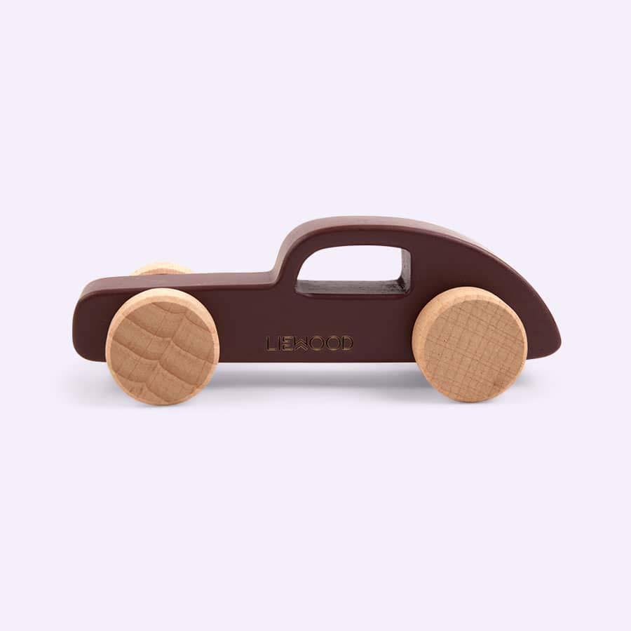 Burned Red Liewood Elena Wood Toy Car