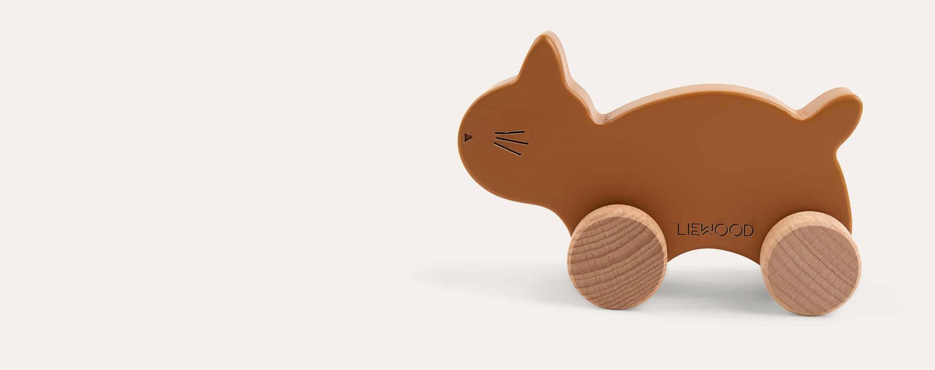 Mustard Cat Liewood Elena Wood Toy Cat