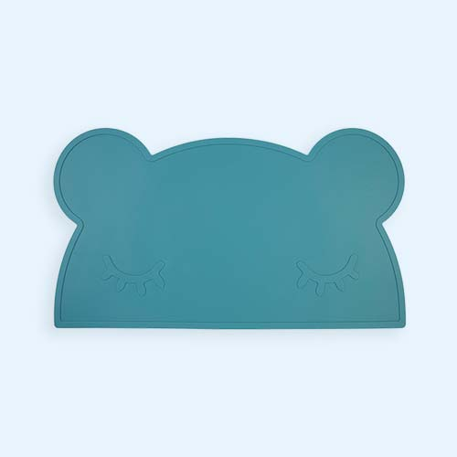 Blue Dusk We Might Be Tiny Bear Placemat
