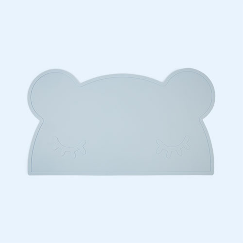 Powder Blue We Might Be Tiny Bear Placemat