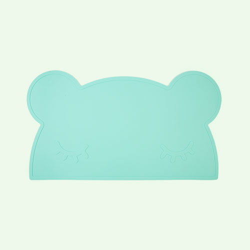 Mint We Might Be Tiny Bear Placemat