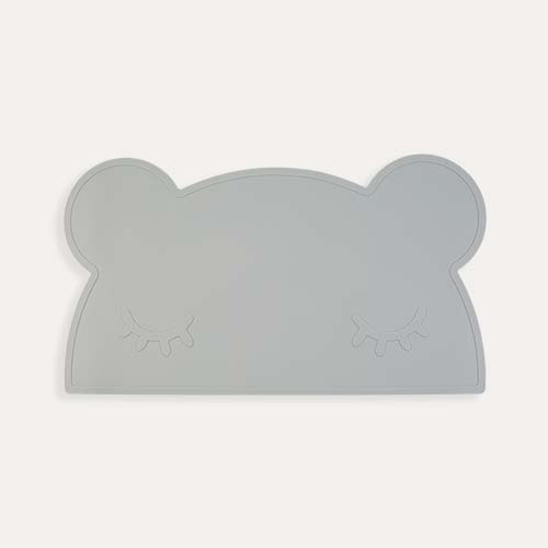 Grey We Might Be Tiny Bear Placemat