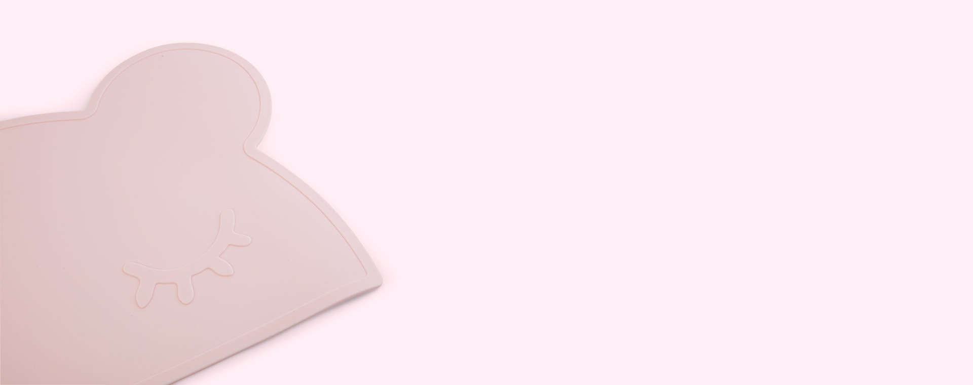 Powder Pink We Might Be Tiny Bear Placemat