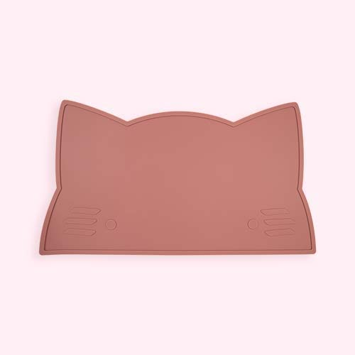 Dusty Rose We Might Be Tiny Cat Placemat