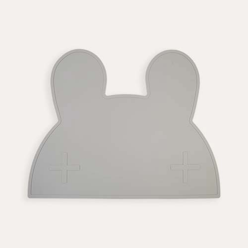 Grey We Might Be Tiny Bunny Placemat