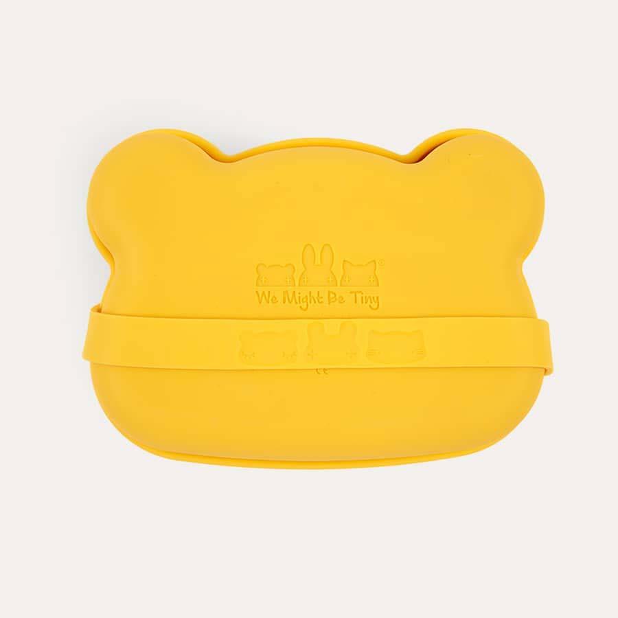 Yellow We Might Be Tiny Bear Snackie