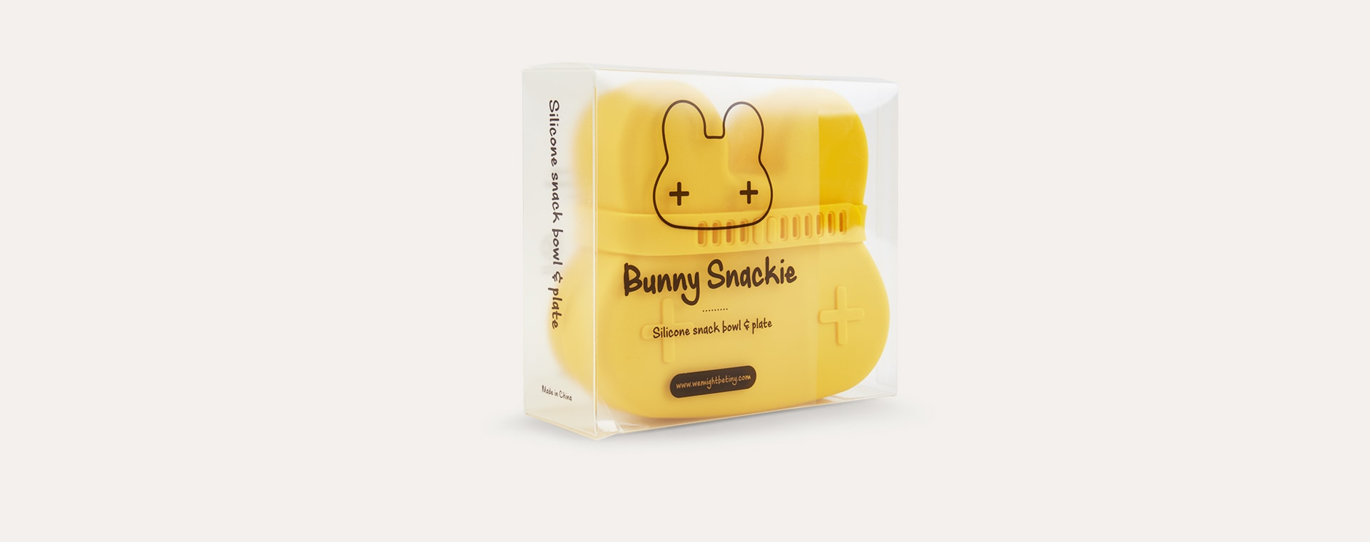 Yellow We Might Be Tiny Bunny Snackie