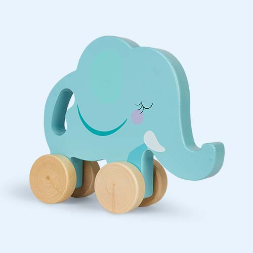 Elephant Sunnylife Push And Pull Toy