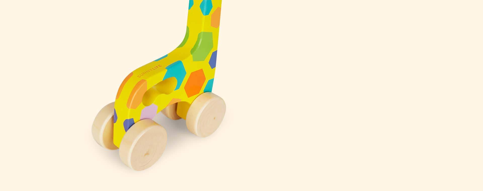 Giraffe Sunnylife Push And Pull Toy