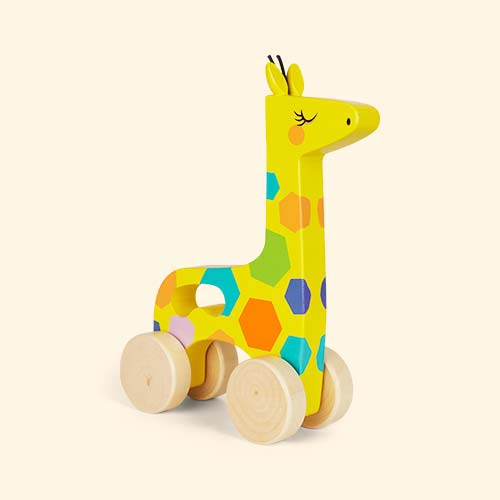 Giraffe Sunnylife Push And Pull Toy