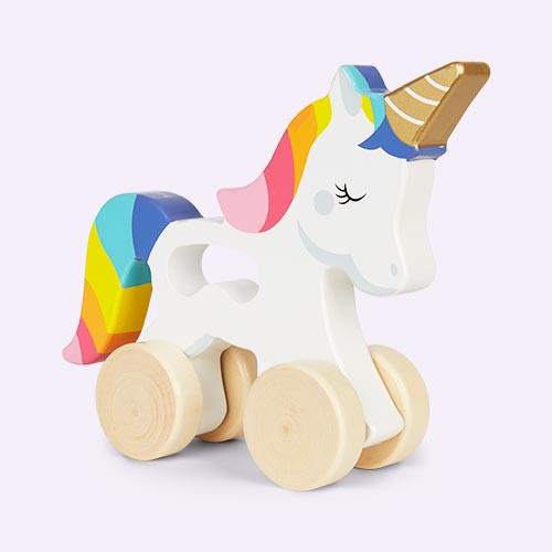 Unicorn Sunnylife Push And Pull Toy