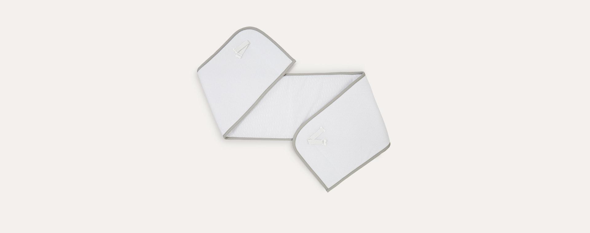 White Grey Aerosleep Bed Bumper