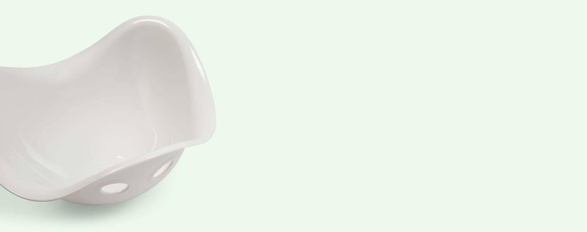 White Moluk Bilibo Sensory Toy