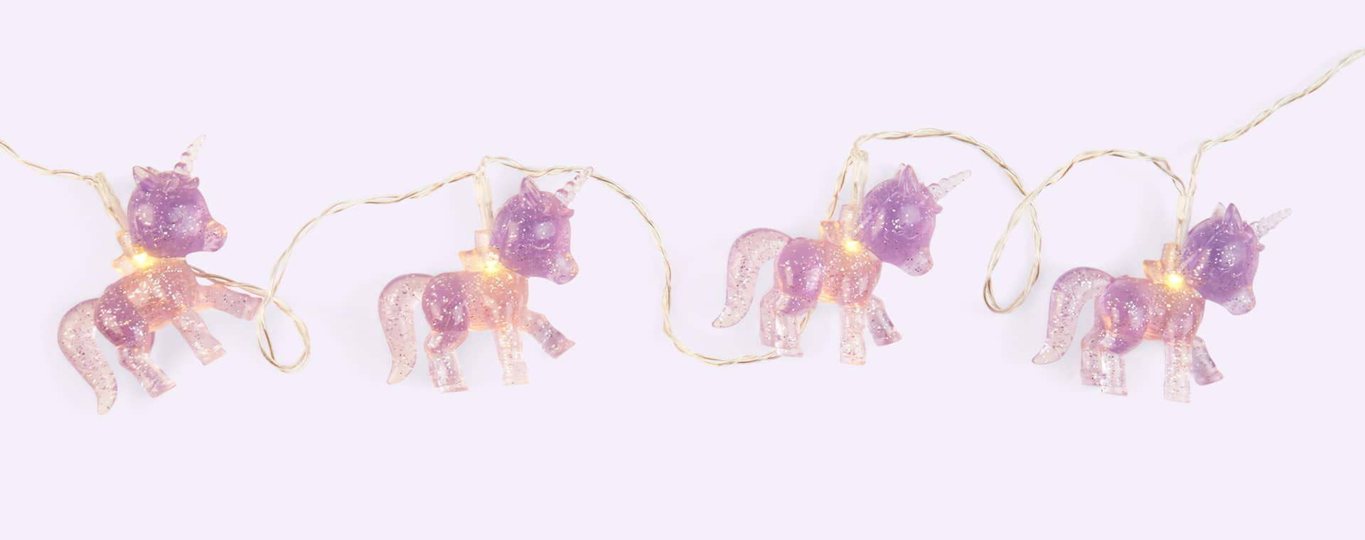 Lilac Sunnylife Unicorn Mini String Light