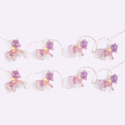 Lilac Sunnylife Unicorn Mini String Light