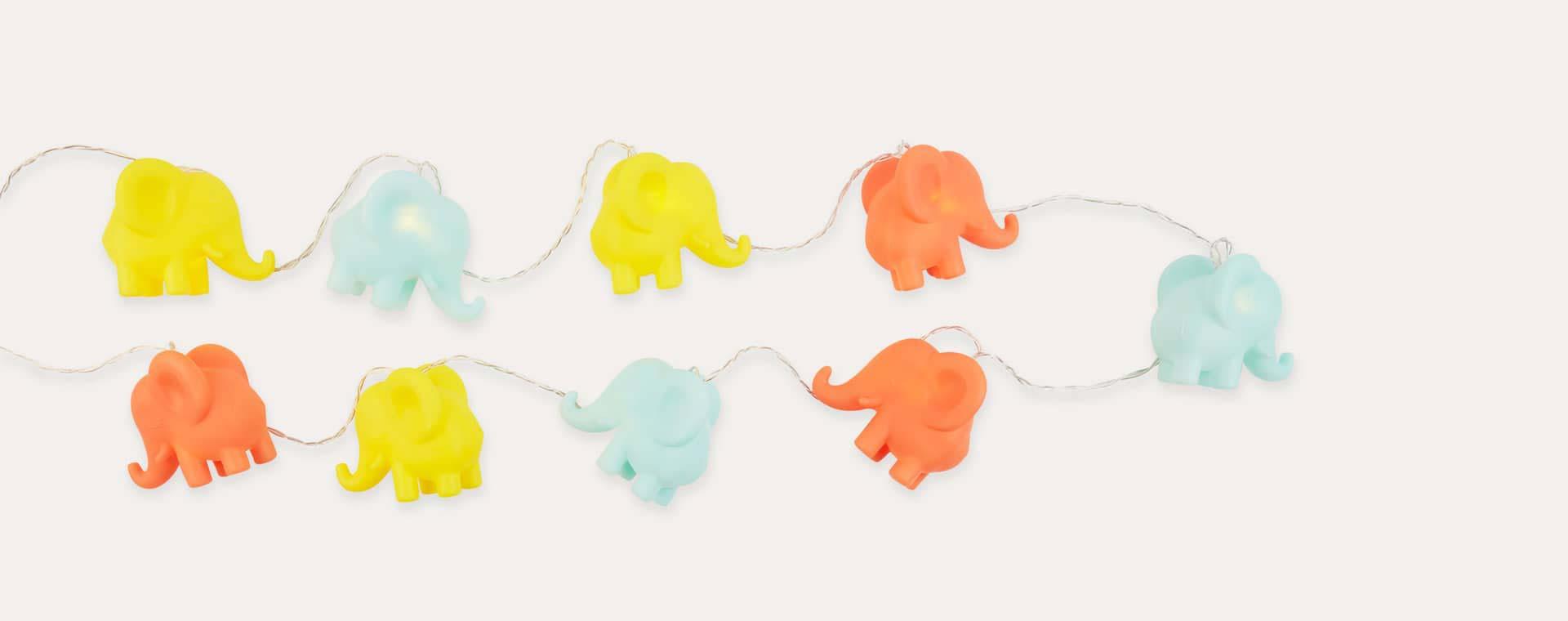 Multi Sunnylife Elephant String Lights