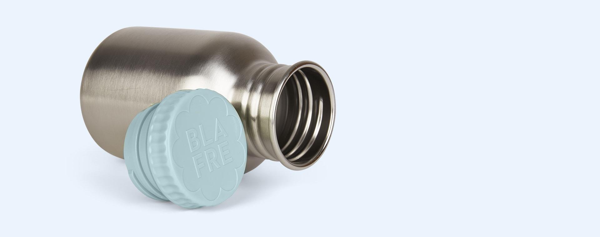 Light Blue Blafre Steel Bottle 300ml