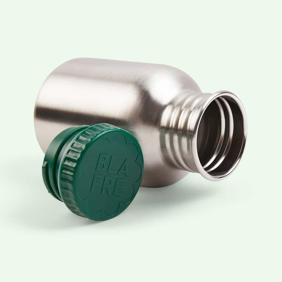 Green Blafre Steel Bottle 300ml