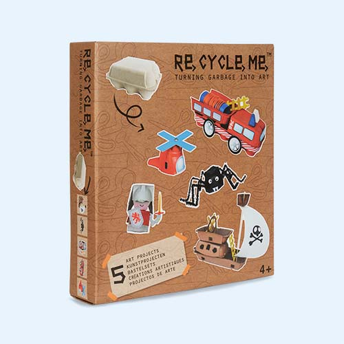 Egg Box Adventure Re-Cycle-Me Recyclable Crafts