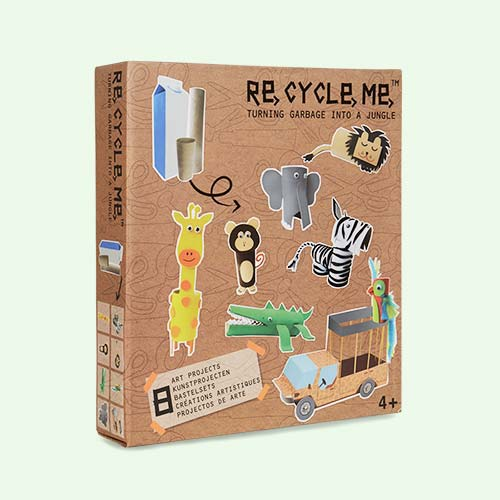 Jungle Re-Cycle-Me Recyclable Crafts
