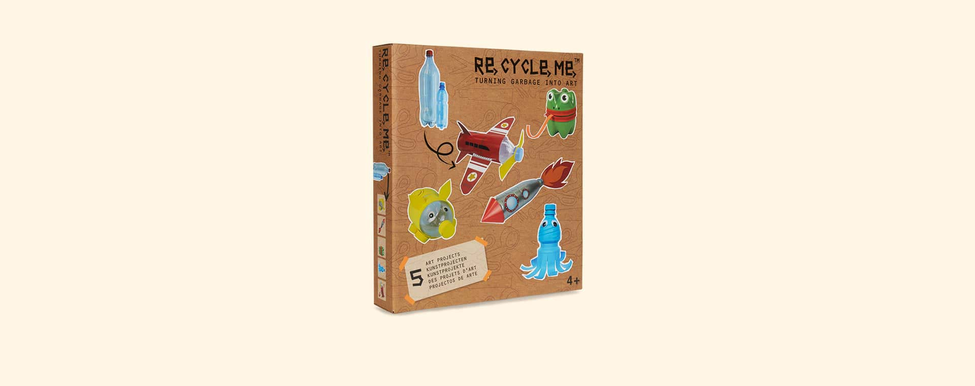 Pet Bottle Action Re-Cycle-Me Recyclable Crafts