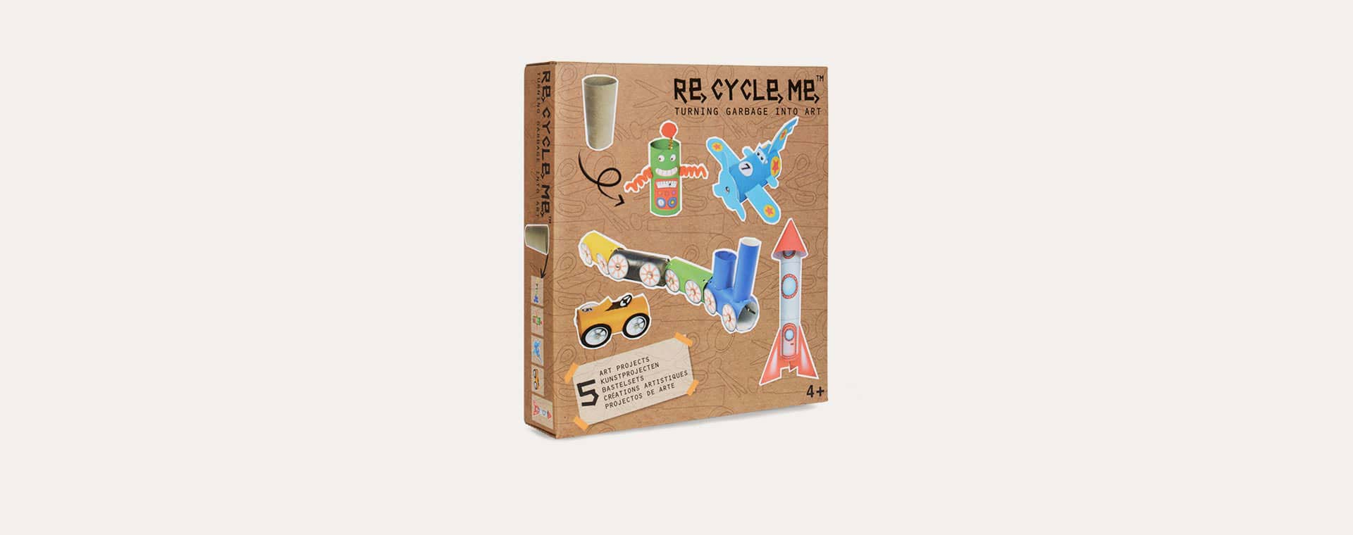 Toilet Roll On The Go Re-Cycle-Me Recyclable Crafts