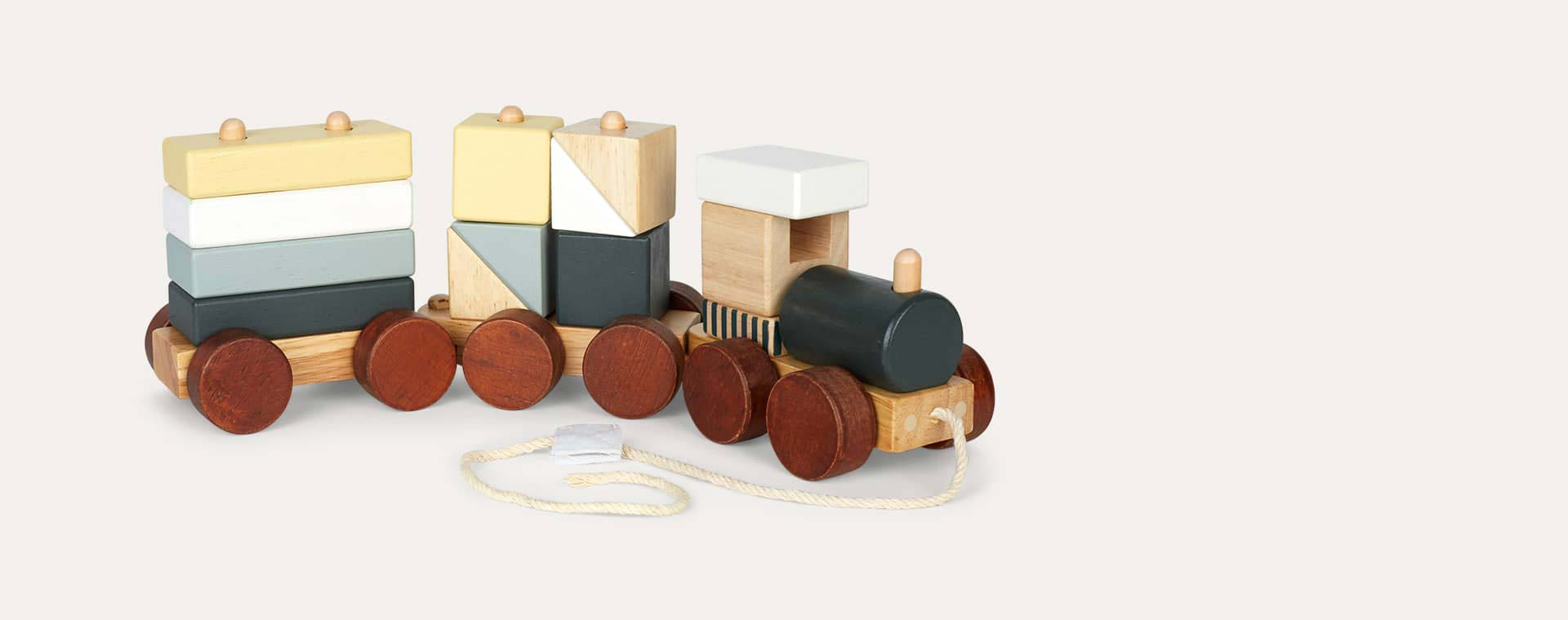 Neo Kid's Concept Neo Wooden Block Toy Train