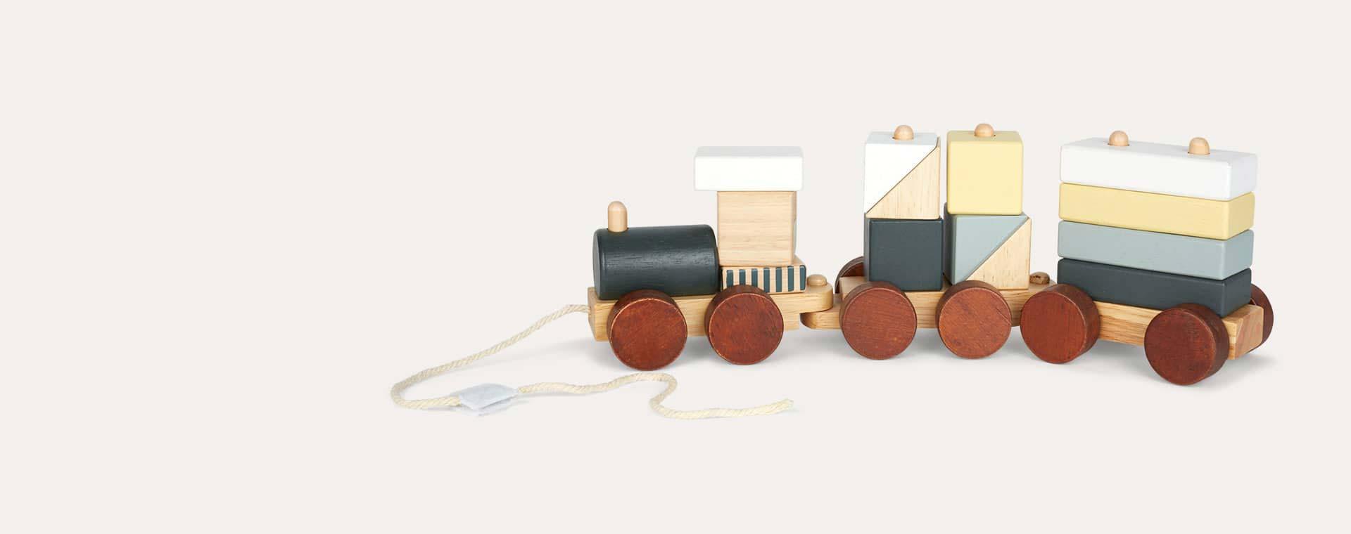 Neo Kid's Concept Neo Wooden Block Toy Train
