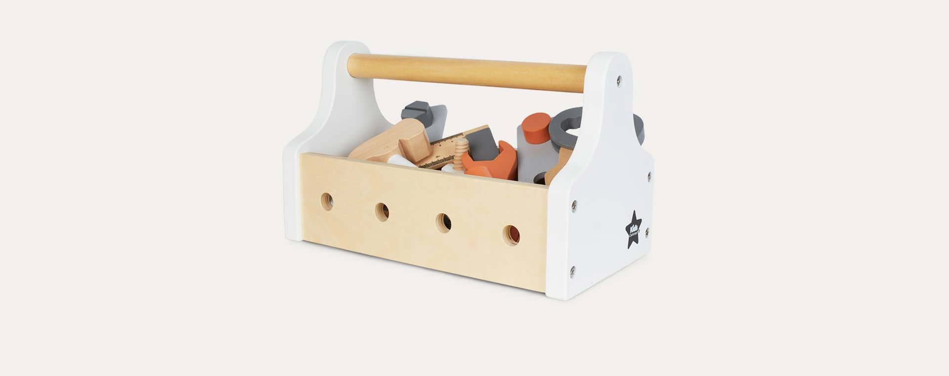 White & Neutral Kid's Concept Tool Box