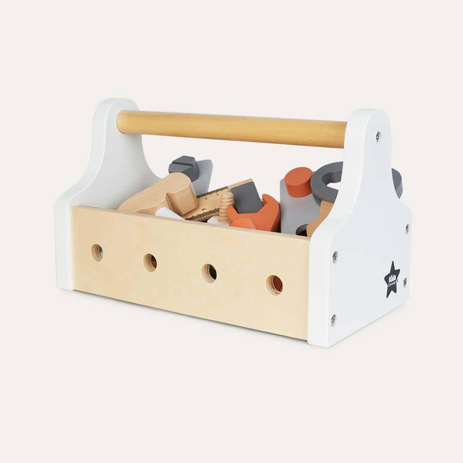 White & Neutral Kid's Concept Tool Box