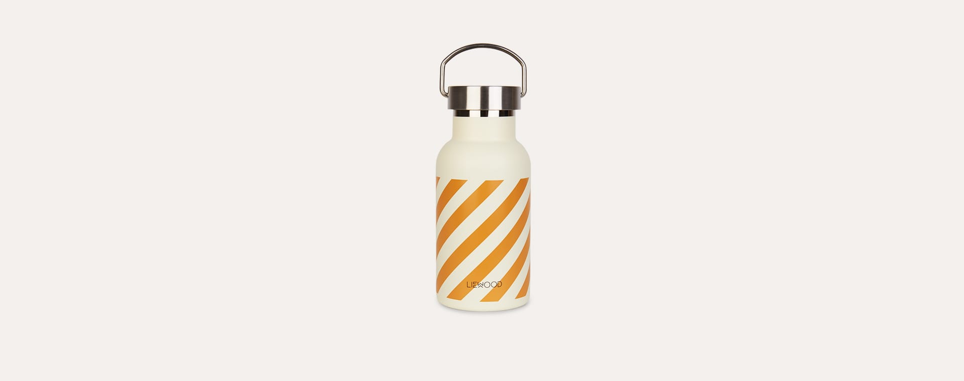 Stripe Mustard Liewood Anker Striped Water Bottle