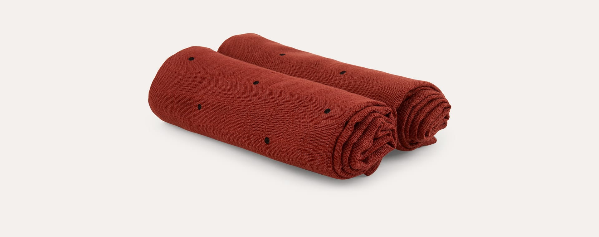 Classic Dot/Rusty Liewood Muslin Cloth 2 Pack