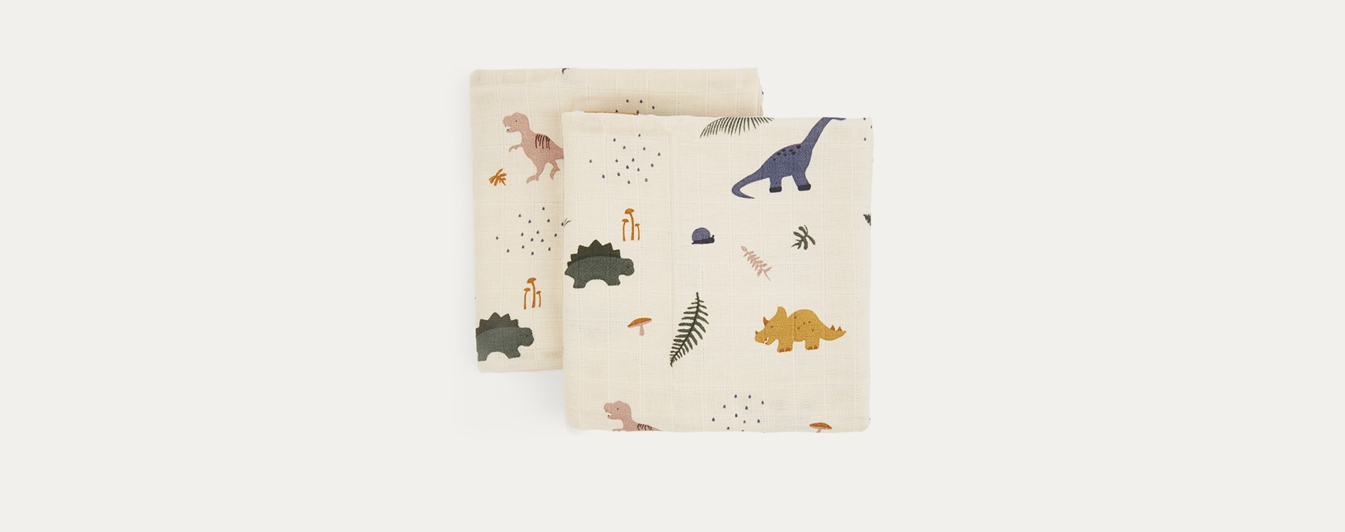 Dino Mix Liewood Muslin Cloth 2 Pack