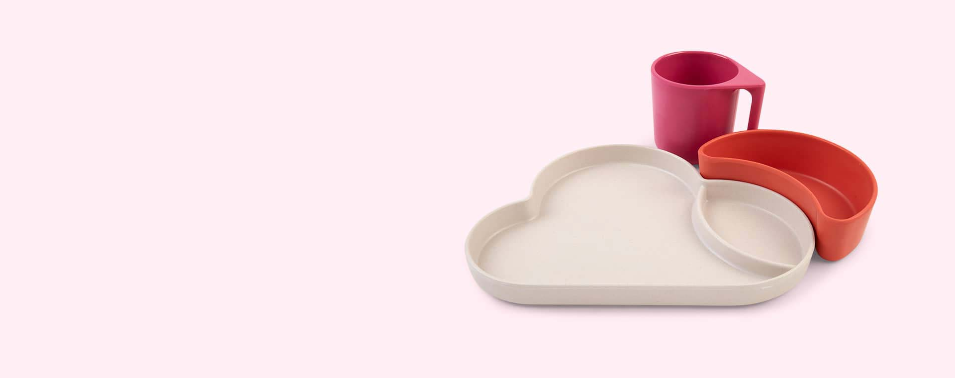 Pink Mix Tum Tum Eco Cloud Dining Set