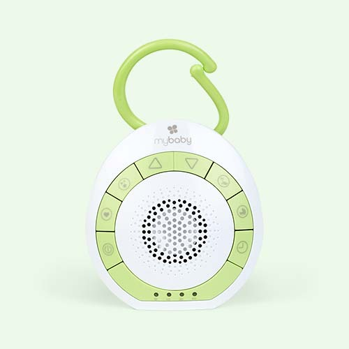 White MyBaby SoundSpa On The Go