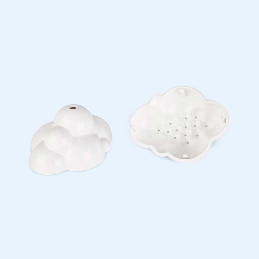 White Moluk Plui Rain Cloud Toy