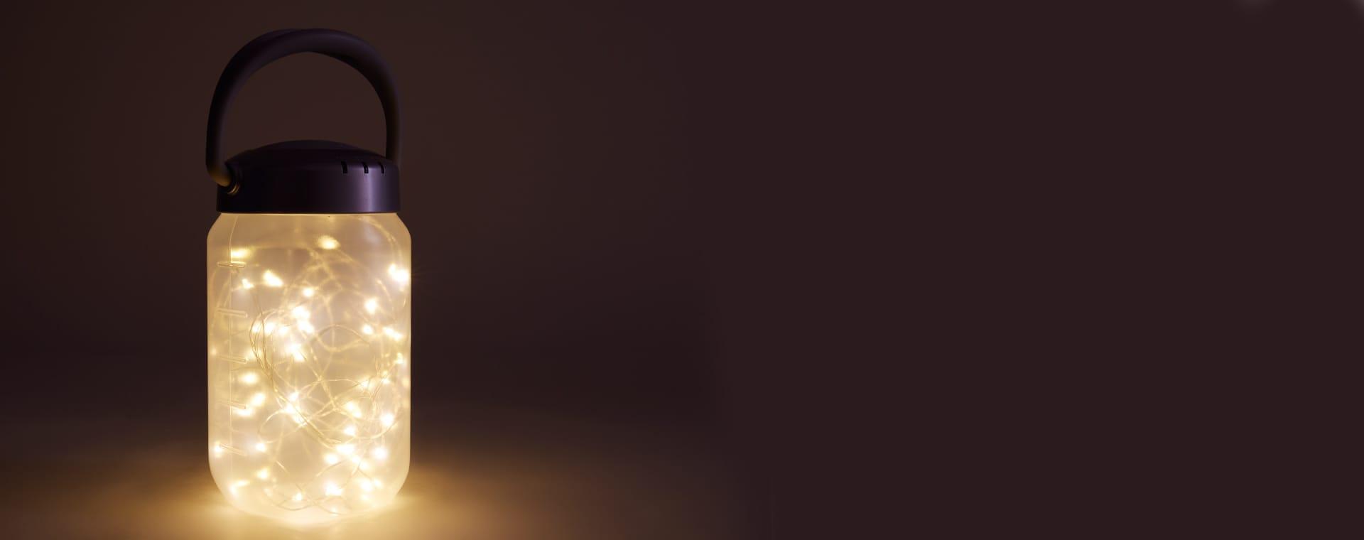 White MyBaby Walkabout Lantern