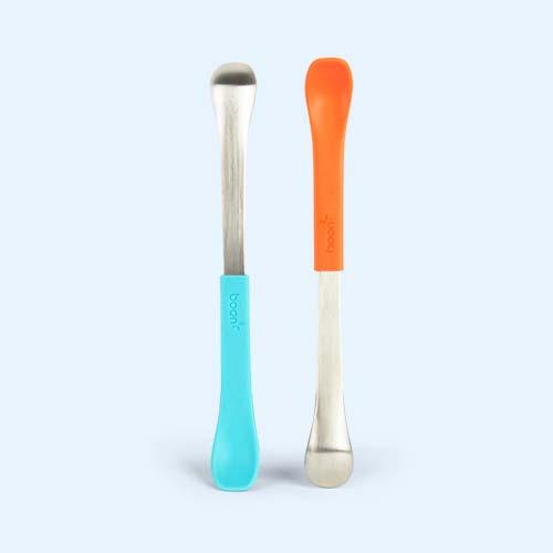 Orange Blue Boon Swap Spoons - 2 Pack